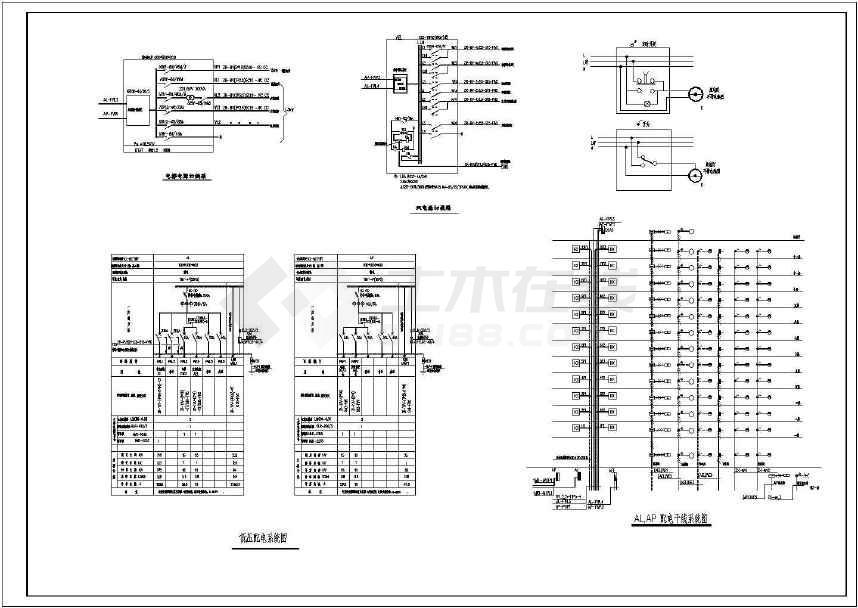 某详细的小高层住宅完整电气施工图-图3