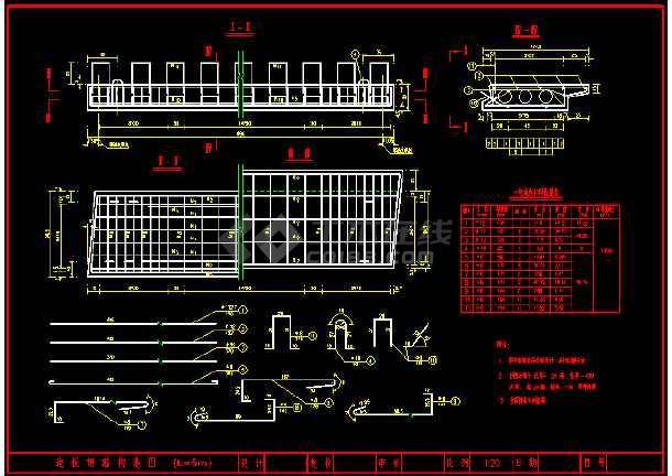 5米和6米的空心板标准图(各种角度)-图1