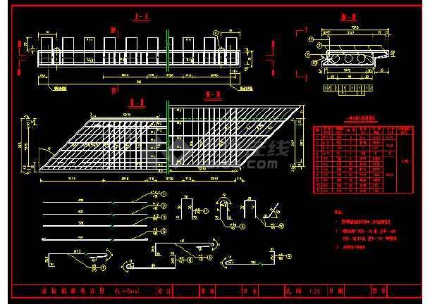 5米和6米的空心板标准图(各种角度)-图2