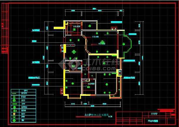某珠江广场完整电气设计施工CAD图纸-图2