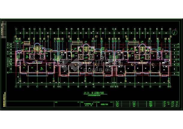 普通住宅楼给排水cad设计全套图(含设计说明)-图2