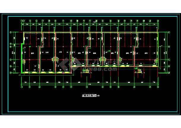 (甲级建筑设计院做的)住宅地热采暖施工图-图1