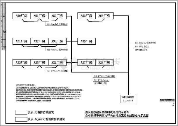 湖州某节能环保产业园(一期)室外工程设计图纸(含电气和给排水)-图3