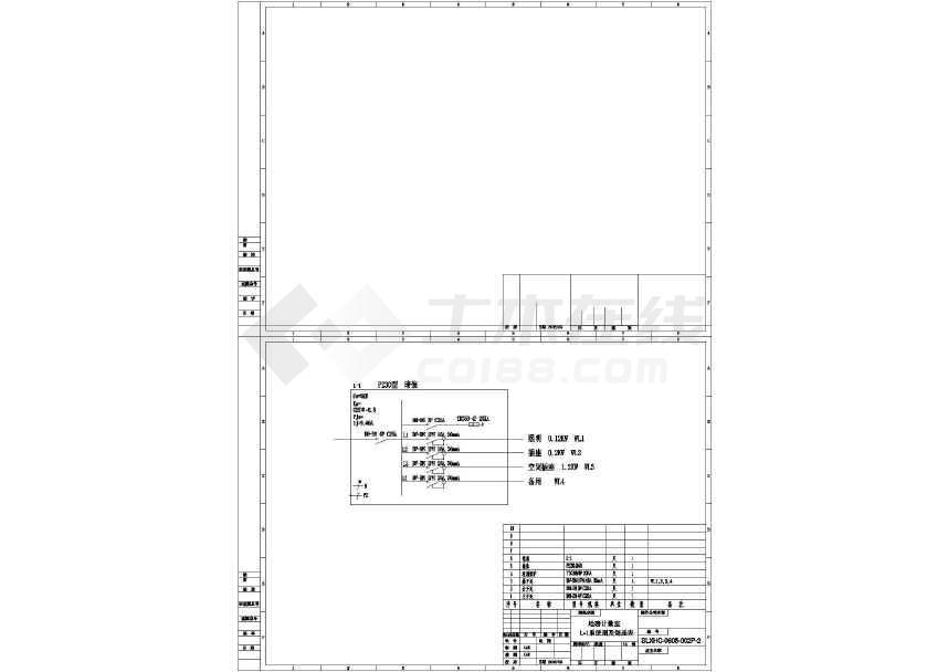 盘柜布置及其系统图纸(标注详实)-图3