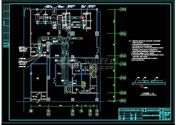 九江一办公培训大楼生活热水锅炉及空调直燃机机房设计-图2
