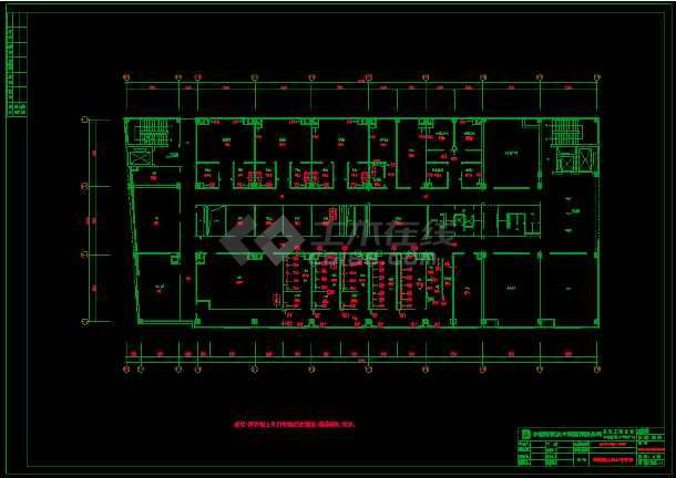 某市疾病控制中心实验楼(含P3室)空调图-图2