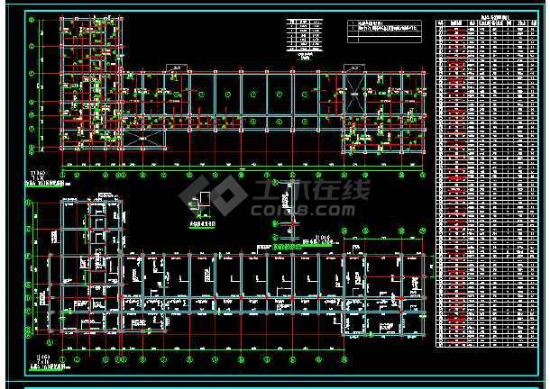 社报局办公楼全套CAD结构设计图-图2