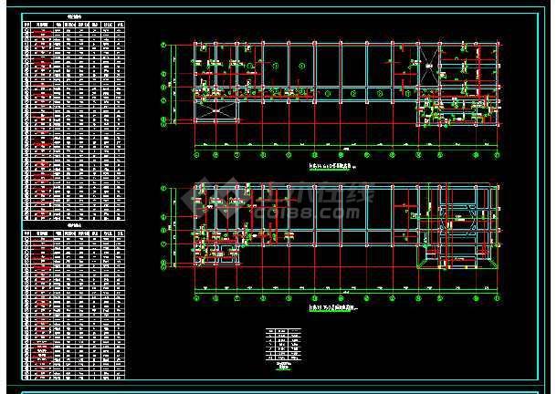 社报局办公楼全套CAD结构设计图-图3