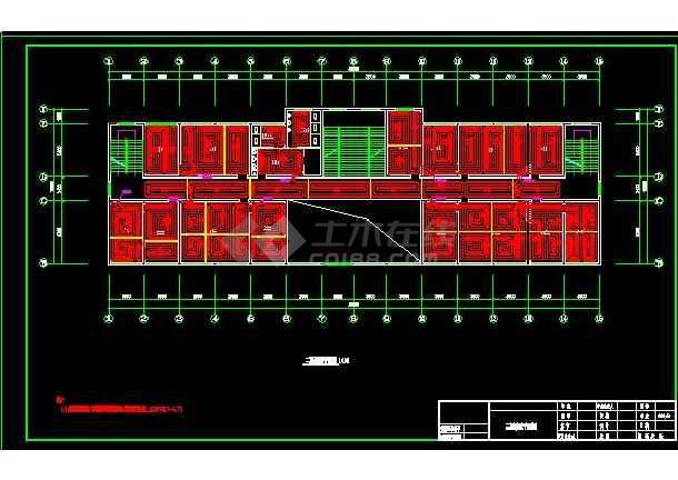 经典住宅地暖采暖系统设计平面施工图-图2