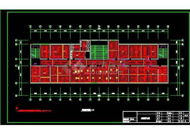经典住宅地暖采暖系统设计平面施工图-图3