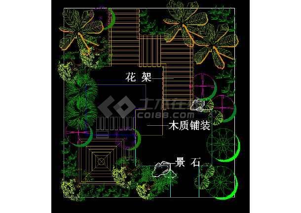 浙江临海杜桥推船沟村住宅区绿化方案-图2