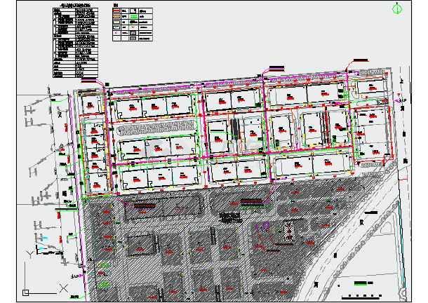 湖州某节能环保产业园(一期)室外工程设计图纸(含电气和给排水)-图2