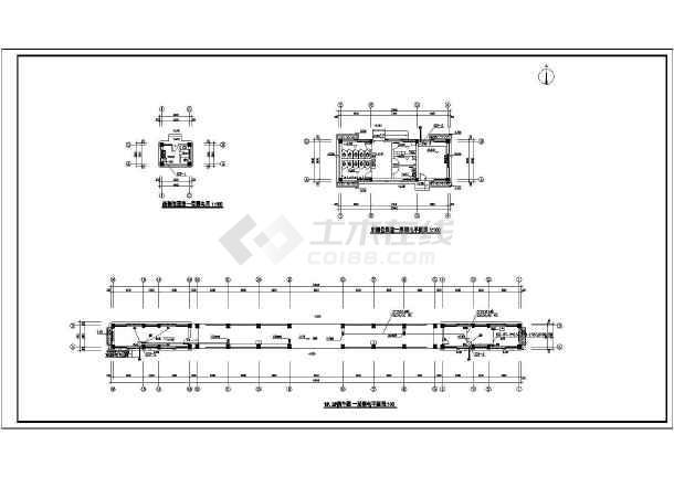 某城市公交枢纽站强弱电设计(含设计说明)-图3