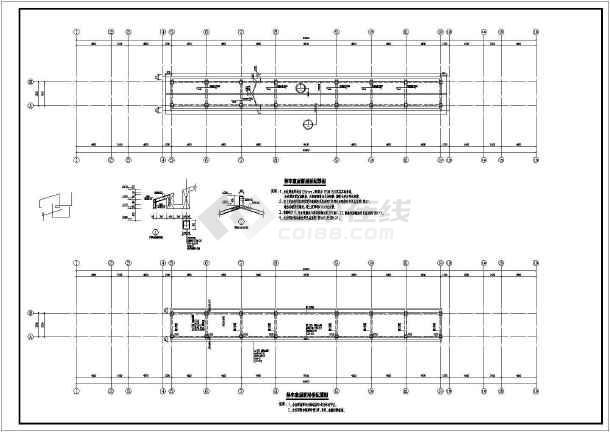 某城市公交枢纽站结构设计(含结构设计总说明)-图1