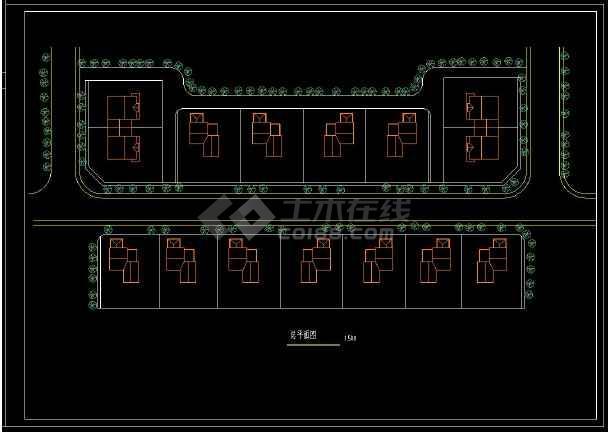 某地农村独院式别墅建筑cad设计方案图(含设计说明)-图1