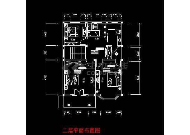 兴化市梅园小区室内装修设计施工图图片