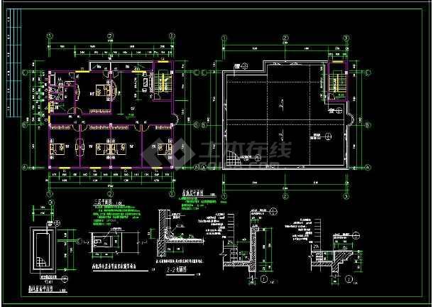 某小区多层住宅楼建筑方案设计CAD图(含设计说明)-图1
