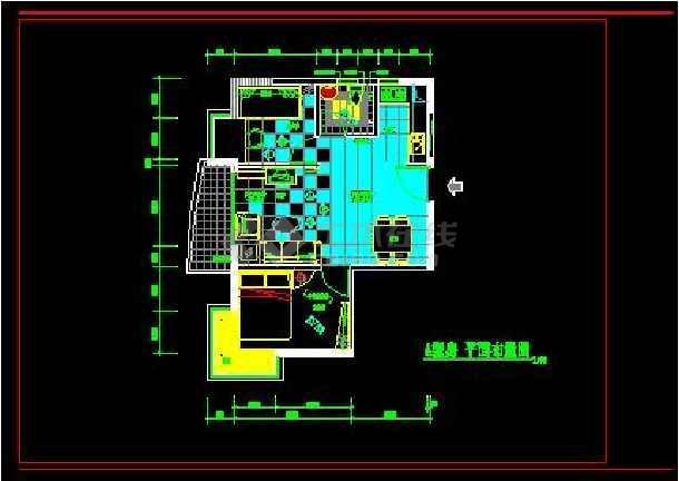 一居室住宅全套装饰设计施工案例图-图1