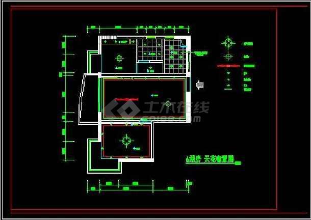 一居室住宅全套装饰设计施工案例图-图2