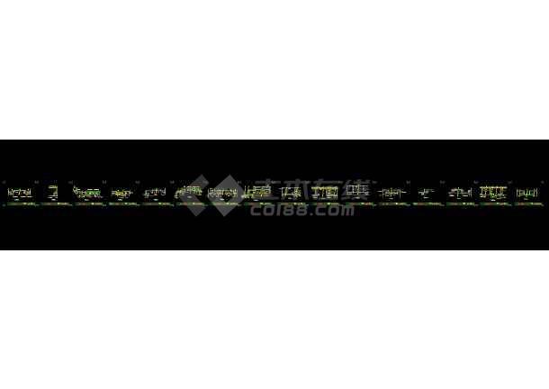广东某三层别墅装修cad设计施工图-图1
