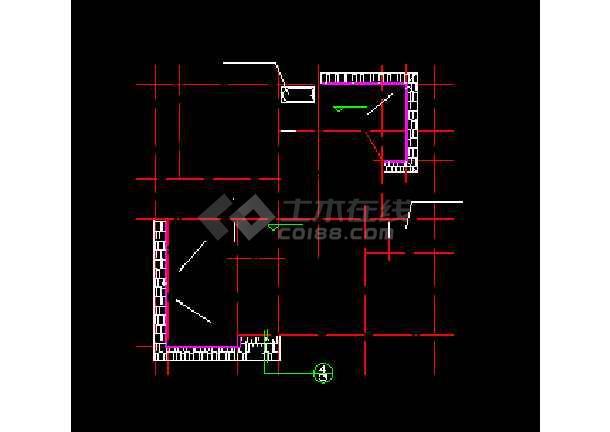 某城市精美荷兰式别墅小区CAD设计图-图2