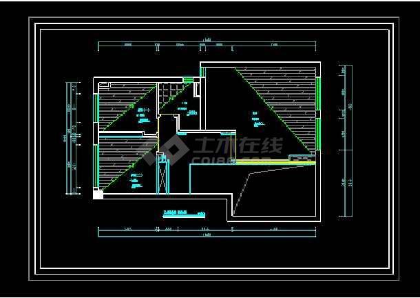 经典别墅建筑室内装修全套cad施工设计图-图1
