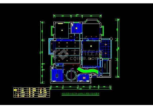 信达花园小高层701装修设计施工图-图1