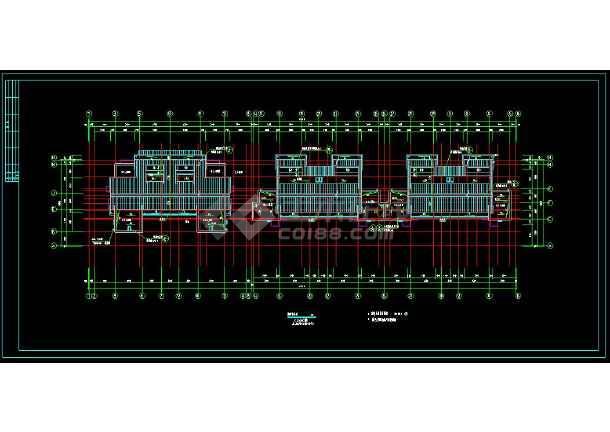 四川某小区多层住宅楼建筑cad设计施工图(含设计说明)-图2