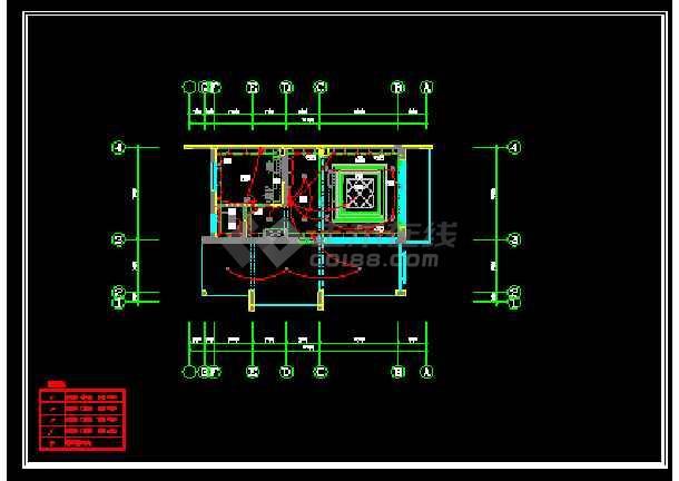 某城市精品别墅小区CAD装修全套图-图2