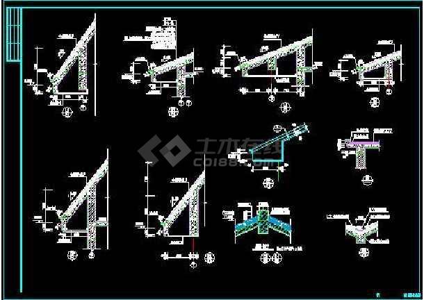 白云苑欧式高档别墅全套装修设计施工图-图3