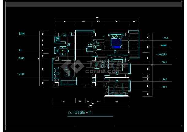 某大型住宅楼盘项目户型方案设计CAD图-图1
