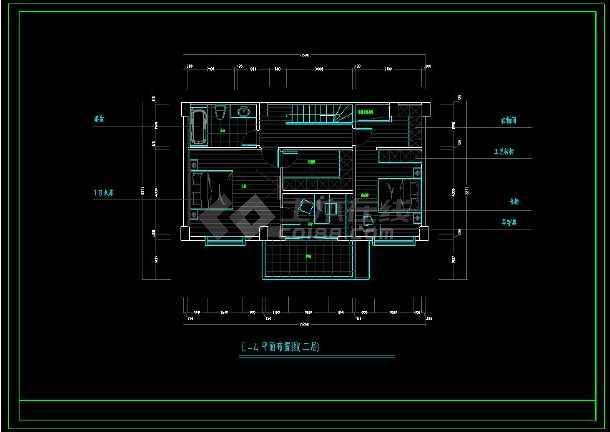 某大型住宅楼盘项目户型方案设计CAD图-图3