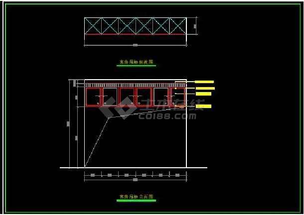 阳光海景内四居室全套装修设计施工图-图3