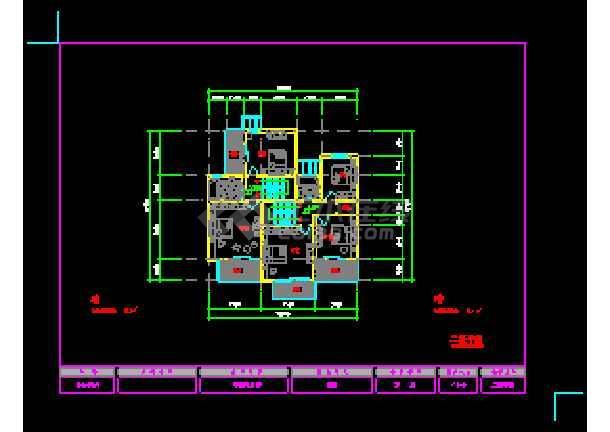 某地农宅经典建筑CAD设计方案图-图2