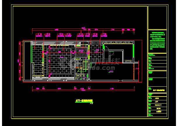 混搭顶级三层别墅建筑cad设计施工图-图1