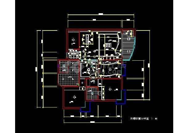 花园式四居室全套装修设计施工图纸-图2