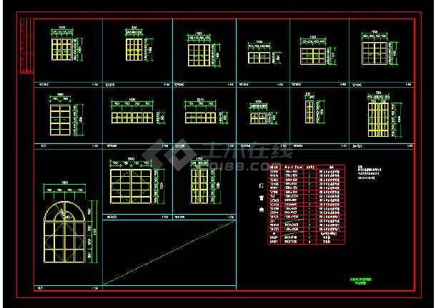 豪华别墅建筑cAD设计施工图附效果图-图1