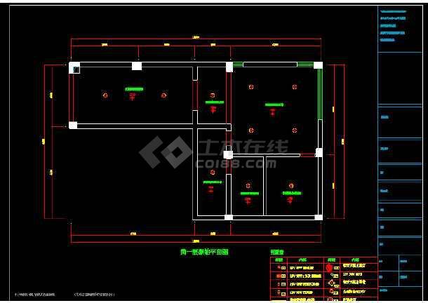 现代精致双层别室内墅cad装修图(含效果)-图2