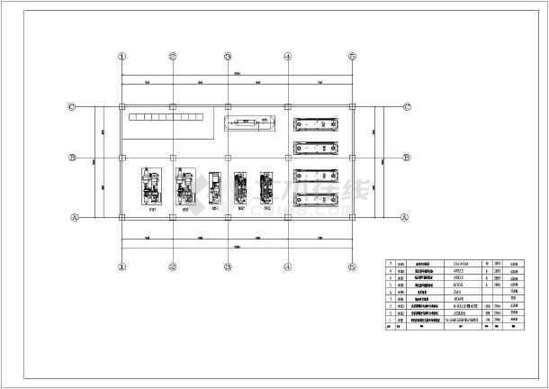 某综合性多温度系统冷库施工图-图2
