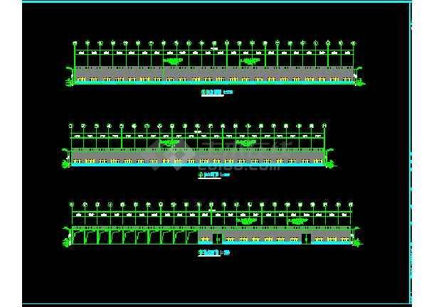 安微晨旺钢结构工程CAD建筑施工v工程图纸平面图室内cad绘制的图片