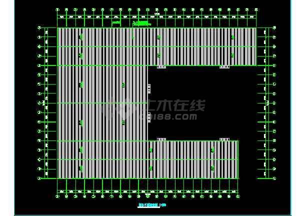 安微晨旺钢结构图纸CAD建筑施工v图纸布局cad间工程机械车图片