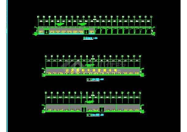 安微晨旺钢结构素材CAD建筑施工v素材图纸工程cad烤箱图片