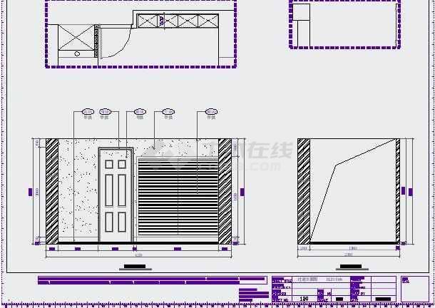 宁波雅致现代三层别墅室内装修设计施工图