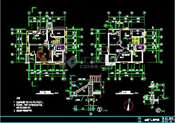 简单实用的新型图纸图纸拆掉CAD设计施工虚线建筑可以住宅农村图片