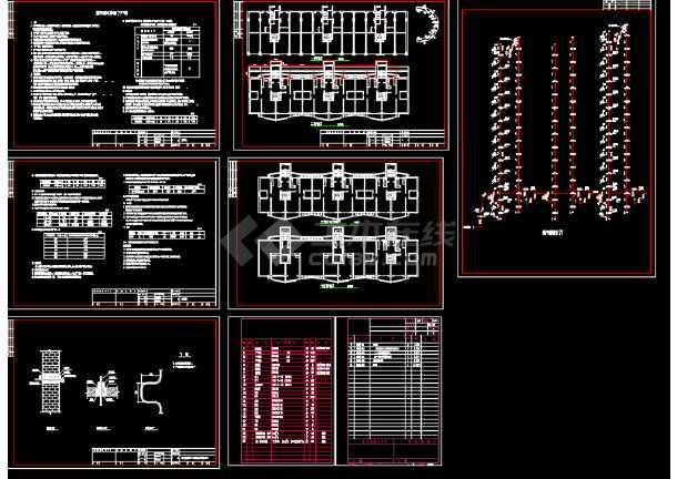 北方某图纸高层合同v图纸CAD小区技术资料图纸转让燃气图片
