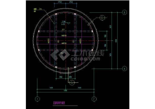 某地全套集水井cad设计施工方案图集-图3