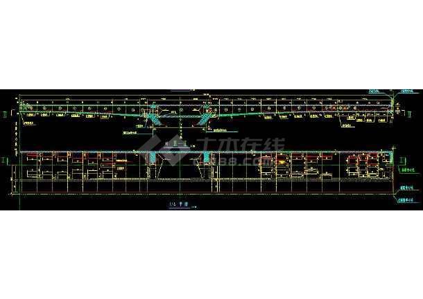 十几种桥梁结构全套CAD设计施工方案图纸-图1