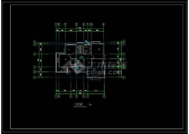 某地特色独栋小别墅给排水方案设计CAD图(含设计说明)-图2