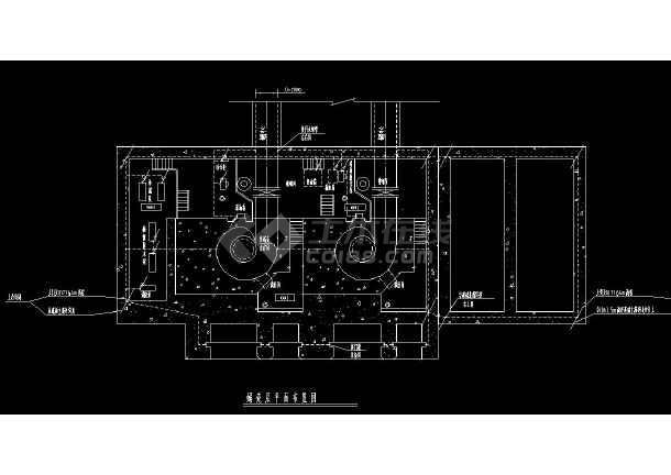 某地全套小型水电站机电cad设计图集-图1
