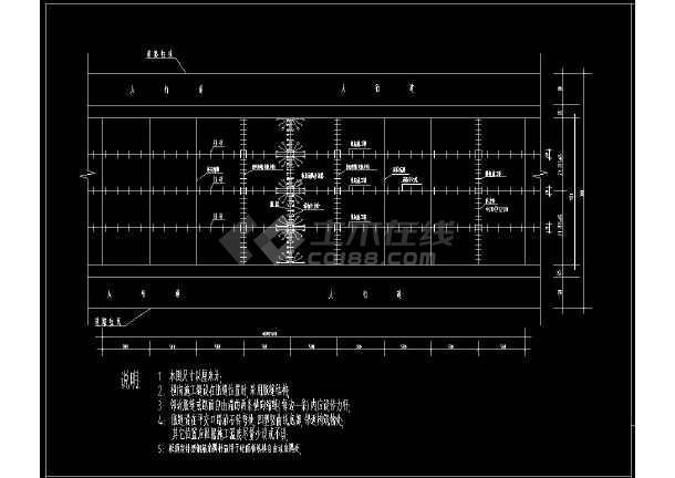 完整道路结构cad设计方案施工图(含设计说明)-图3